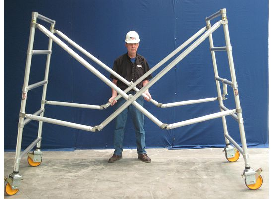 Perry Scaffolding On Stairs : Scaffolding depot folding aluminum