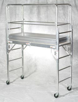 Aluminum baker style unit. Now with a aluminum plank