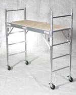 Rolling Aluminum Bakers Scaffold