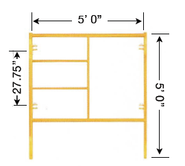 Biljax Style Scaffolding Frames | Scaffold Frame Systems | Steel